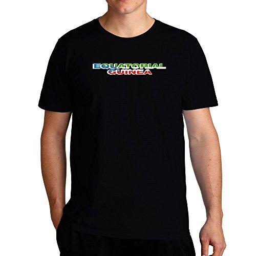 Eddany Equatorial Guinea Country Flag T-Shirt -