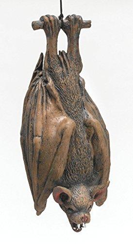 aus Latex kopfüber hängender Blutsauger wahnsinnig realistisch Halloween Deko Hammer (Hängen Spinnweben Halloween)