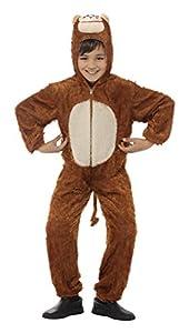 Smiffys 30011- Disfraz de mono para niño, talla 7-9 años