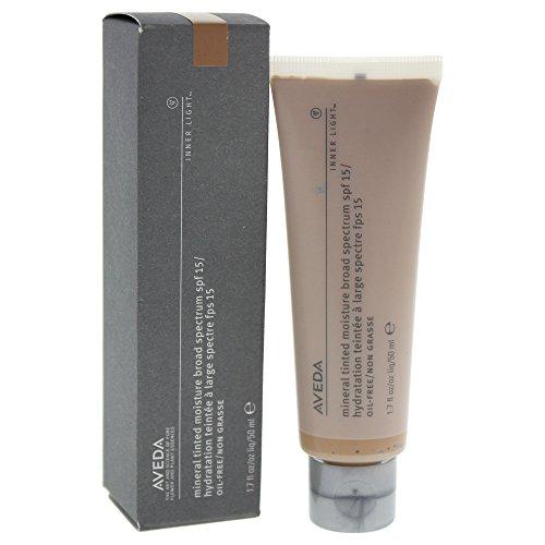AVEDA INNER LIGHTTM Mineral Tinted Moisture 03/Sweet Tea 50ml (Make-up Ausblenden Mit Augenbrauen)