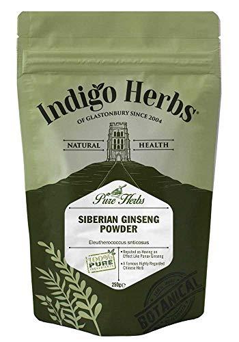 Indigo Herbs Ginseng Siberiano in Polvere (Eleutheroccocus) 100g