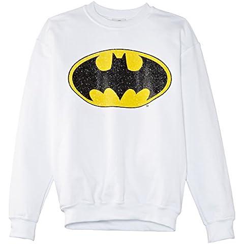 Dc Comics Batman Gloss Logo, Sudadera, Niños