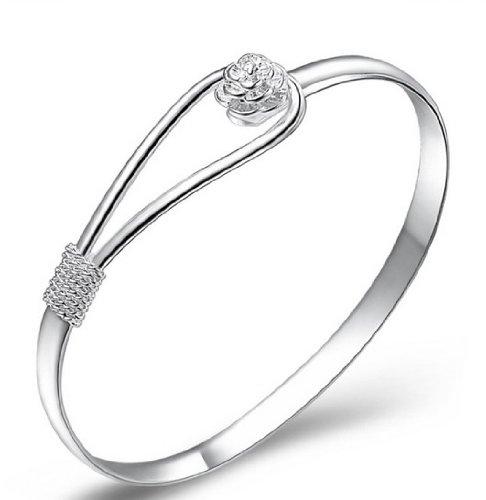 925-sterling-silver-elegant-clip-on-button-style-floral-design-bracelet-bangle-jewellery-classic-des