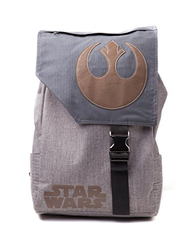 Offizielle Star Wars Rebell Alliance Symbol Große Leinwand Schule Laptop Rucksack
