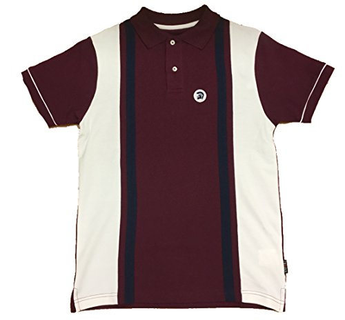 ska-and-soul-trojan-striped-polo-shirt-in-maroon-xx-large