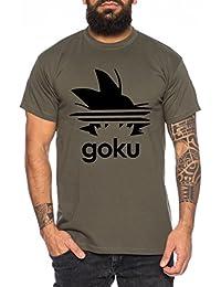 d240c73fd99f WhyKiki Adi Goku Herren T-Shirt Dragon Master Son Ball Vegeta Turtle Roshi  Db