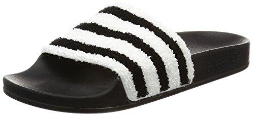 adidas Adilette, Herren Pantoffeln, Schwarz (Core Black/Core Black/Footwear White), 42 EU (8 UK)