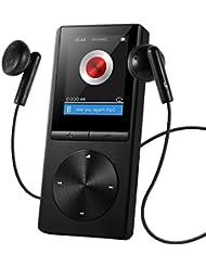 Reproductor de MP3 8GB de VicTsing, Portátil y Brazalete Exclusivo, FM Radio, Apoya Tarjeta de Memoria hasta 64GB (Negro)