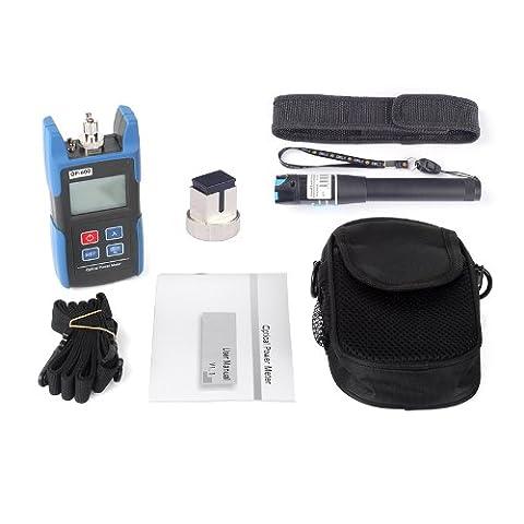 SainSonic WattsOut OP-600 Portable Optical Power Meter + TL532 1mW