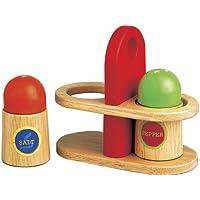 Santoys Bigjigs Toys Brotzeit aus Holz 9 tlg