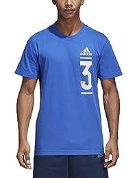 Adidas GFX – Camiseta de, Todo el año, Hombre, Color Hirblu, ...