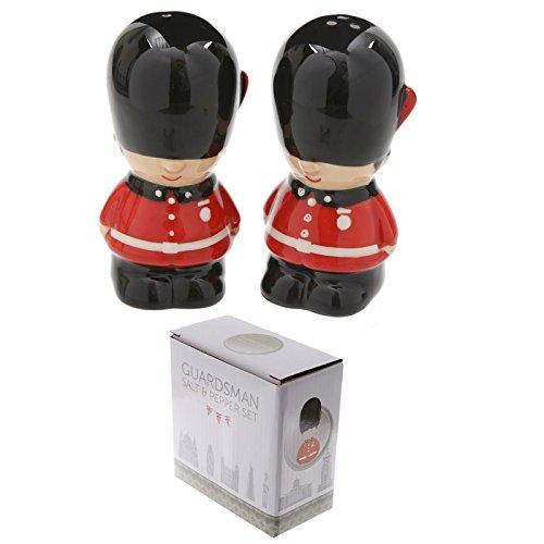 Puckator Novelty Offizielle Della Guardia Reale Salz- und Pfefferstreuer aus Keramik