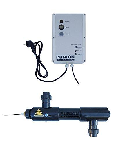 PURION 2001 UVC-Anlage Teichreiniger Poolreiniger Poolklärer(PURION 2001 PVC-U mit Lebensdauerüberwachung)