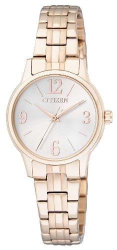 Citizen Analog White Dial Women's Watch-EX0293-51A