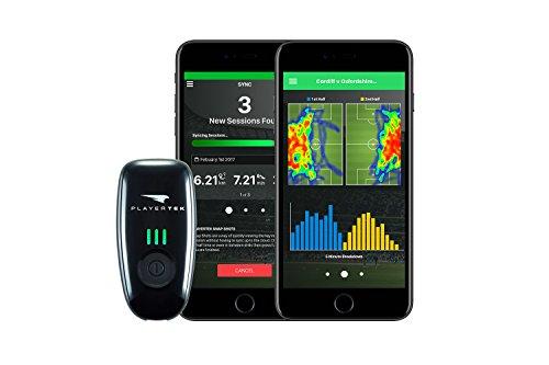 PlayerTek Fußball Tracker - GPS Weste mit App zur Verfolgung und Analyse deiner Leistung - für iPhon (M)
