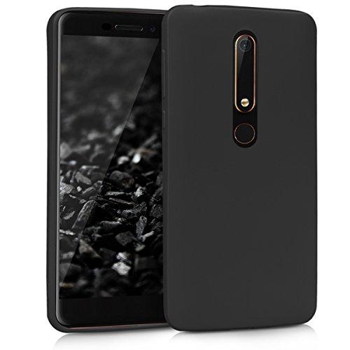 kwmobile Nokia 6.1 (2018) Hülle - Handyhülle für Nokia 6.1 (2018) - Handy Case in Schwarz matt