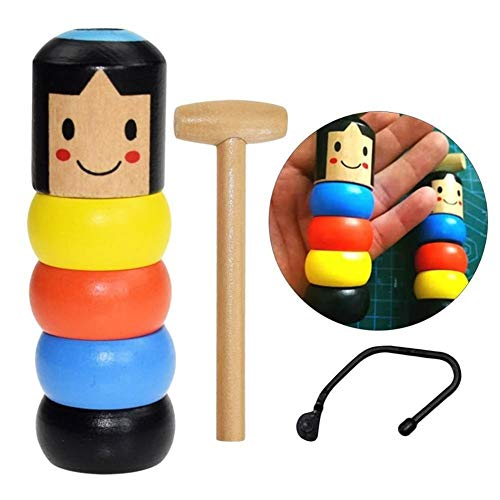 HUIJUNWENTI Juguete Mágico irrompible De Madera Para Niños Accesorios Mágicos Para Escenario Accesorios Mágicos Para Escenario (Farbe : 1)