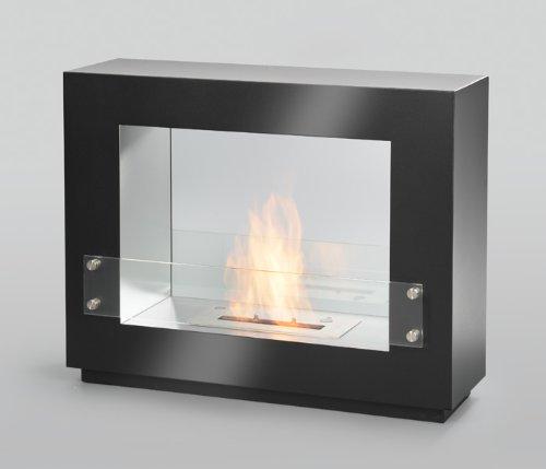 Bio Ethanol Wandkamin Cheminée Gel Kamin Gelkamin Fireplace Tischkamin (Paris Schwarz)