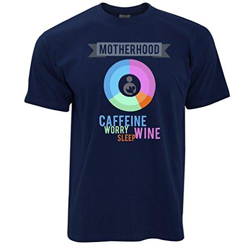 Tim And Ted Mutterschaft Zutaten Gedruckt Slogan Zitat Design Premium Herren T-Shirt (Mutterschaft Neuheit Tees)