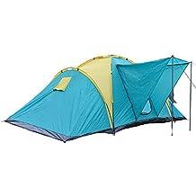 Tienda de campaña para Grupos Familia 4-6 personas impermeable Montaña campamento camping