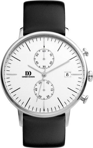 Danish Design Herren-Armbanduhr IQ12Q975 Analog Quarz Leder IQ12Q975