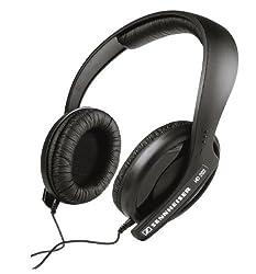 (CERTIFIED REFURBISHED) Sennheiser HD 202 Professional Over-Ear Headphone (Black)