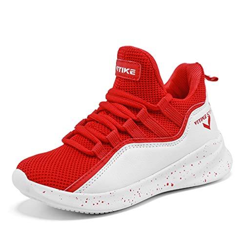 Kinder Basketball Schuhe Junge Anti Skid Laufschuhe Jugend High Top Breathable Turnschuhe Kinder Leichte Trainer (Kleinkind-high-tops-größe 11)