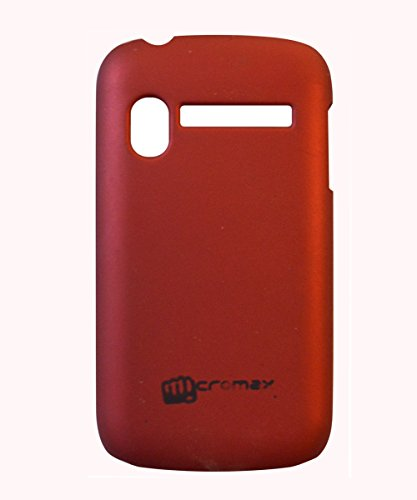 COVERNEW Back Cover for Micromax Bolt A27-Red  available at amazon for Rs.229