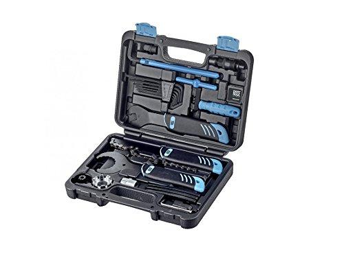 ROSE All2gether Pro II Fahrrad Werkzeugkoffer - umfangreicher, robuster Werkzeugkoffer zur Reparatur...