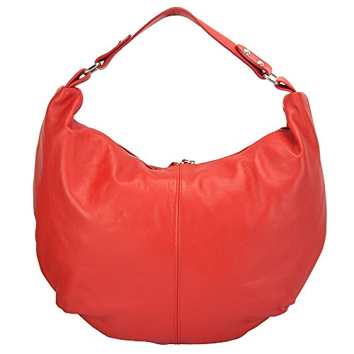 FLORENCE LEATHER MARKET ,  Damen schultertasche Rot