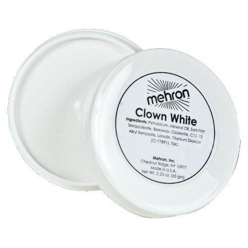 (6 Pack) mehron Clown White - Clown White
