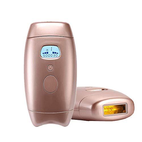 Epilatore a luce pulsata, 500000 Flash IPL Dispositivo di depilazione Donna Uomo Sistema di depilazione indolore permanente per il corpo del viso Ascella e bikini