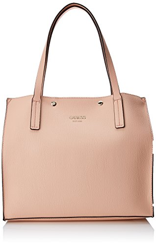 Guess Damen Bags Hobo Schultertasche, Pink (Rose), 17.5x31x35 centimeters (Guess Jeans Gold)