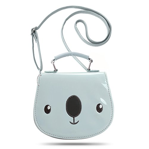 Ava & Kings , Damen Umhängetasche Blau Cutie Koala (Blue/Gray) (Ava Umhängetasche)