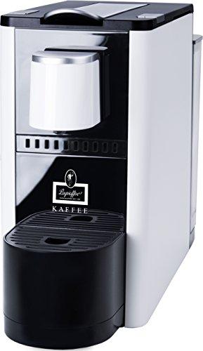 Leysieffer Kaffee KM-0102016 Premium Kapselmaschine mit innovativem Milchschaumsystem, weiß