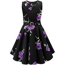BlackButterfly Niñas 'Audrey' Vestido Vintage Años 50 Infinity