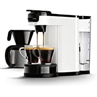 Senseo HD7892/00 Switch 2-in-1 Kaffeemaschine für Filter, Weiß