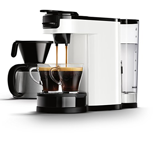 Senseo HD7892/00 Switch 2-in-1 Kaffeemaschine für Filter und Pads,Weiß thumbnail