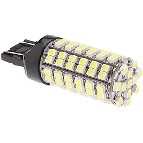 T20 (7443) 96x3528 SMD 5W 280LM luz blanca natural Bombilla LED para la lámpara de coches niebla