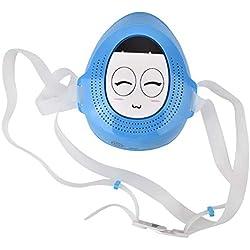Masque respirant antipoussière intelligent de charbon actif électrique de charbon Anti-pm2.5 pour des enfants