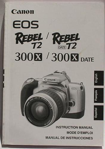 canon eos 300x copy of the instruction manual amazon co uk canon rh amazon co uk