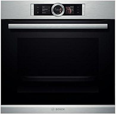 Bosch HBG676ES1 Electric oven 71L 3650W A Negro, Acero inoxidable - Horno (Electric oven, 71 L, 3650 W, 71 L, Negro, Acero inoxidable, Tocar)
