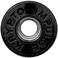 Kryptonics Roller Impulse Ruedas, Negro, 62 mm