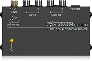 Behringer PP400 Microphono Ultra Compact Phono Preamp assorted colour (B000H2BC4E) | Amazon Products