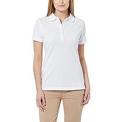 Berydale Polo para mujer, Blanco, S