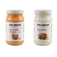 Fric Bergen Mayonnaise Tandoori Sauce and Mayonnaise Dip/Sauce-Bottle Combo