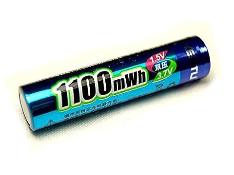 1 Pile Rechargeable 1.5V AAA Lithium ion Li-ion 1100Mwh Kentli PH7 R3 R03 LR3 LR03