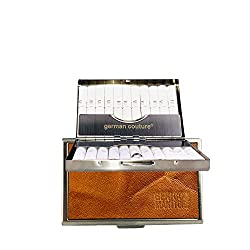 German Couture® ORIGINAL - HEET-CASE für IQOS HEETS mit edlen Premium Vintage Leder - edles Zigarettenetui passend zu Holder + Charger 2.4 3 Duo Plus Multi