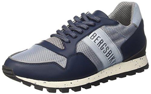Bikkembergs FEND-ER, Sneaker Uomo, Blu (Blue L.Blue), 42 EU