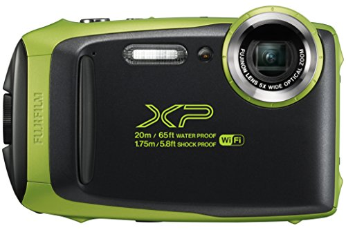Fujifilm Finepix Xp130 Outdoor-Kamera Lime Wasserdicht, Stoßfest